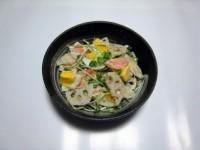 根菜と卵のごまマヨサラダ